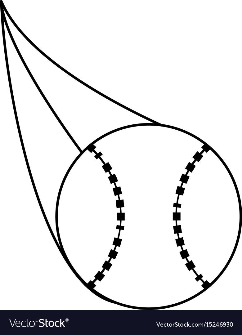 Ball baseball related icon image