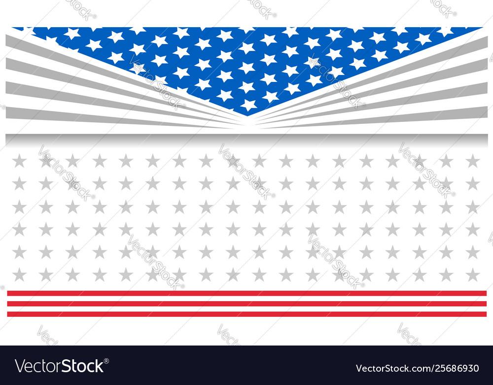Us flag patriotic holiday frame poster