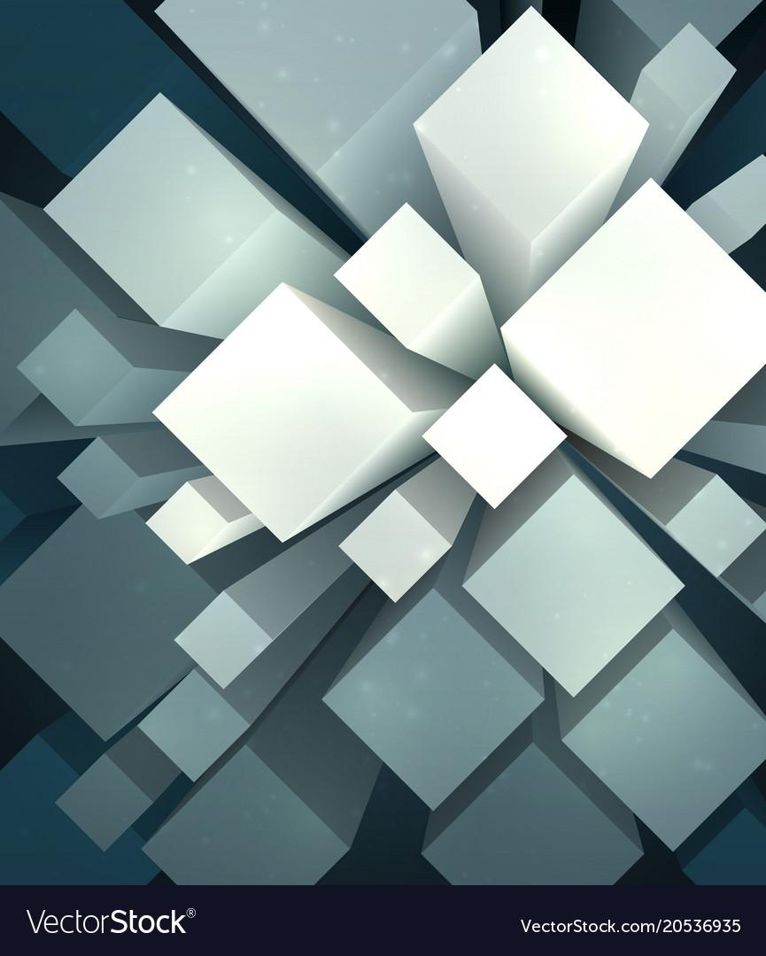 Mess of cubes