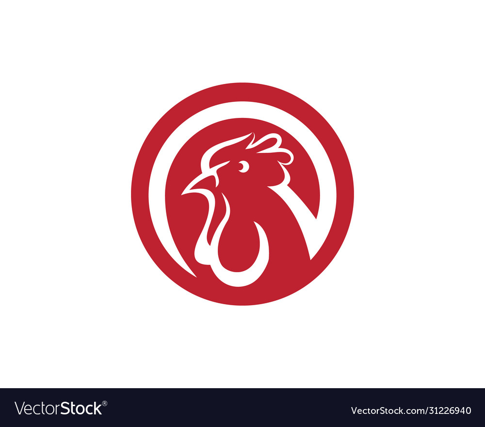 Chicken icon design