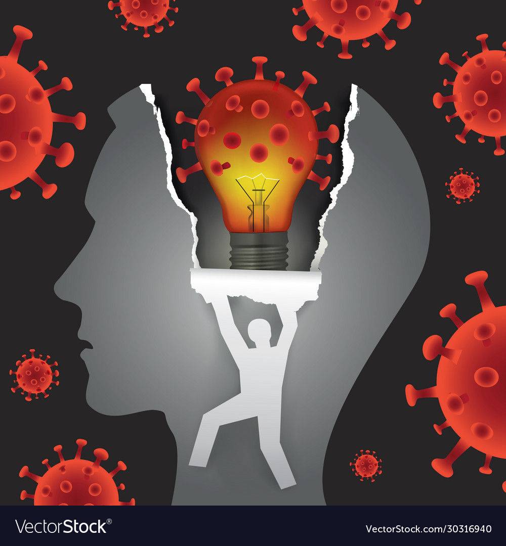 Mental problems in coronavirus pandemic time