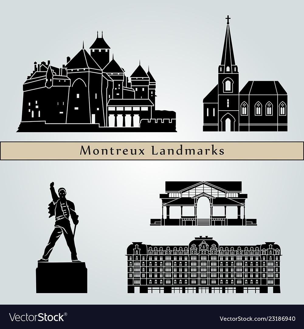 Montreux landmarks