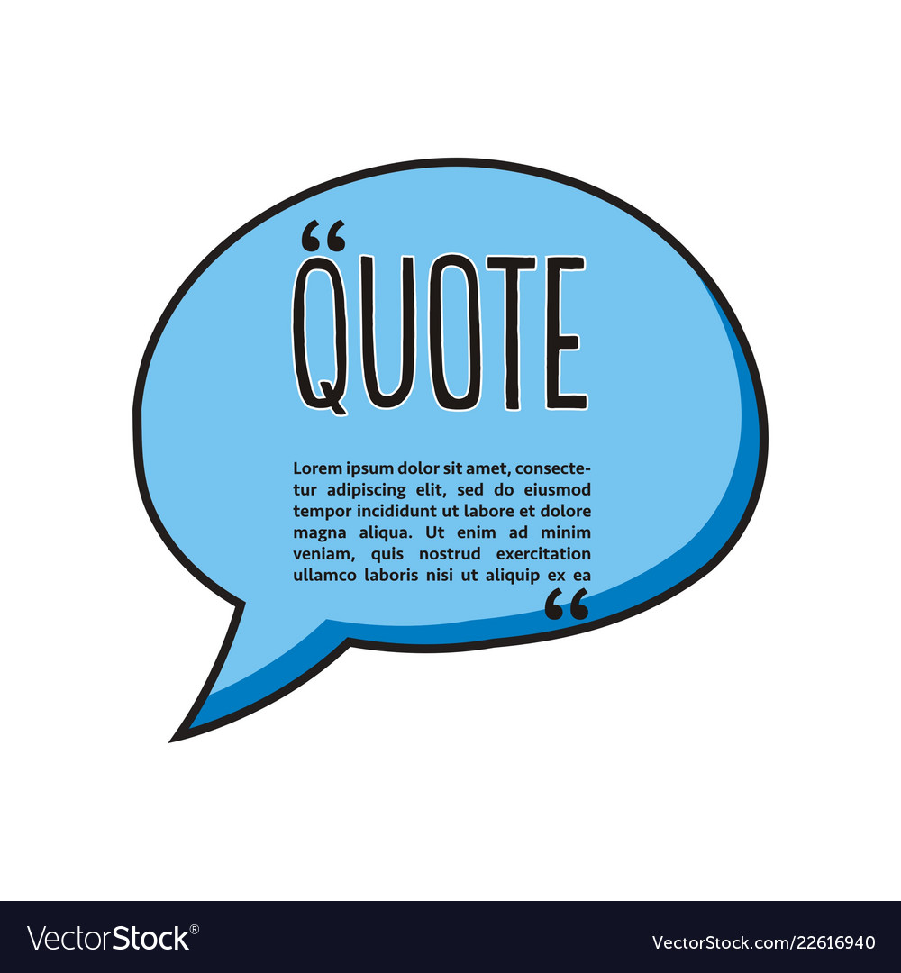 Quote talk logo