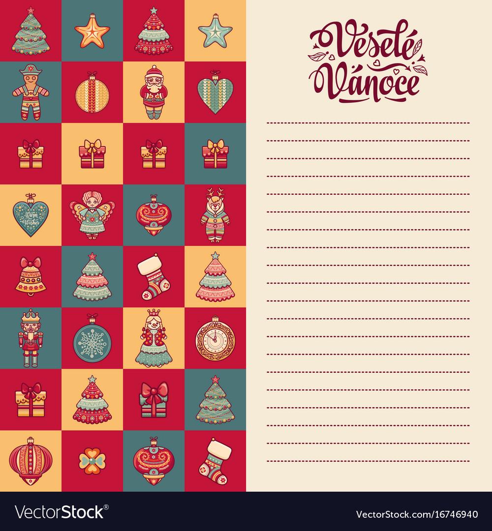 Vesele vanoce - greeting cards