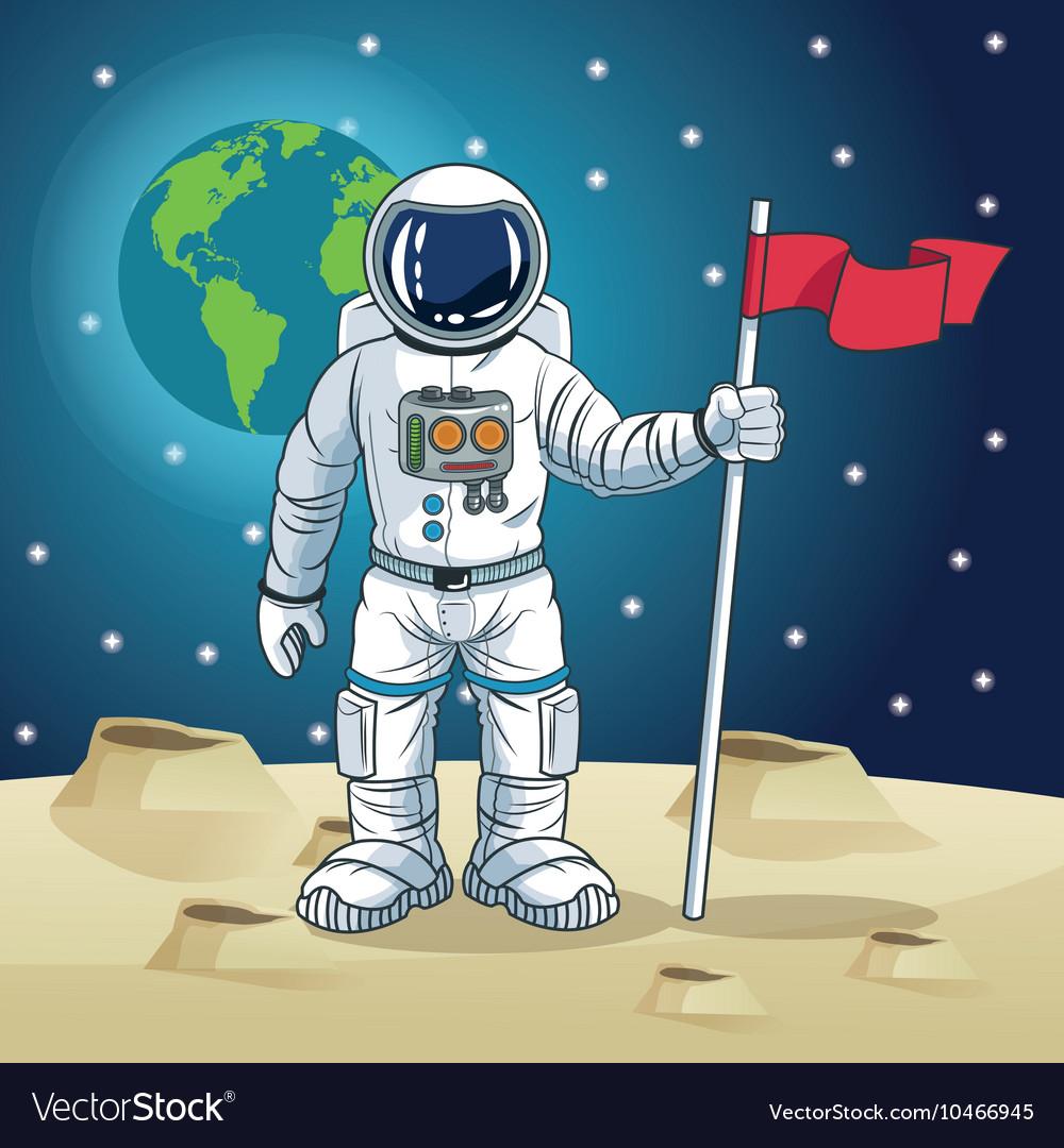 ресунок скафандра космонавта по отдельности