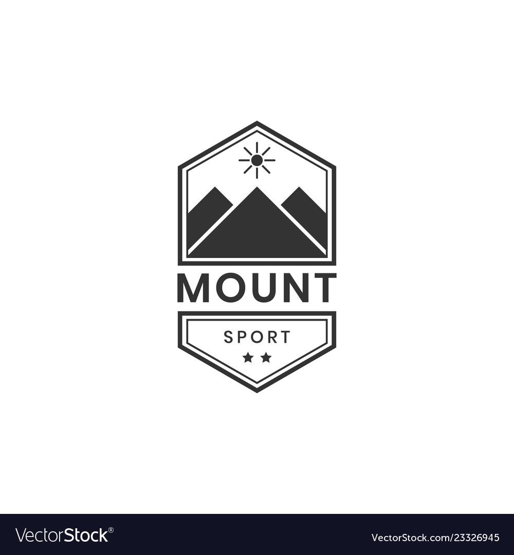 Mountain sport logo design inspiration