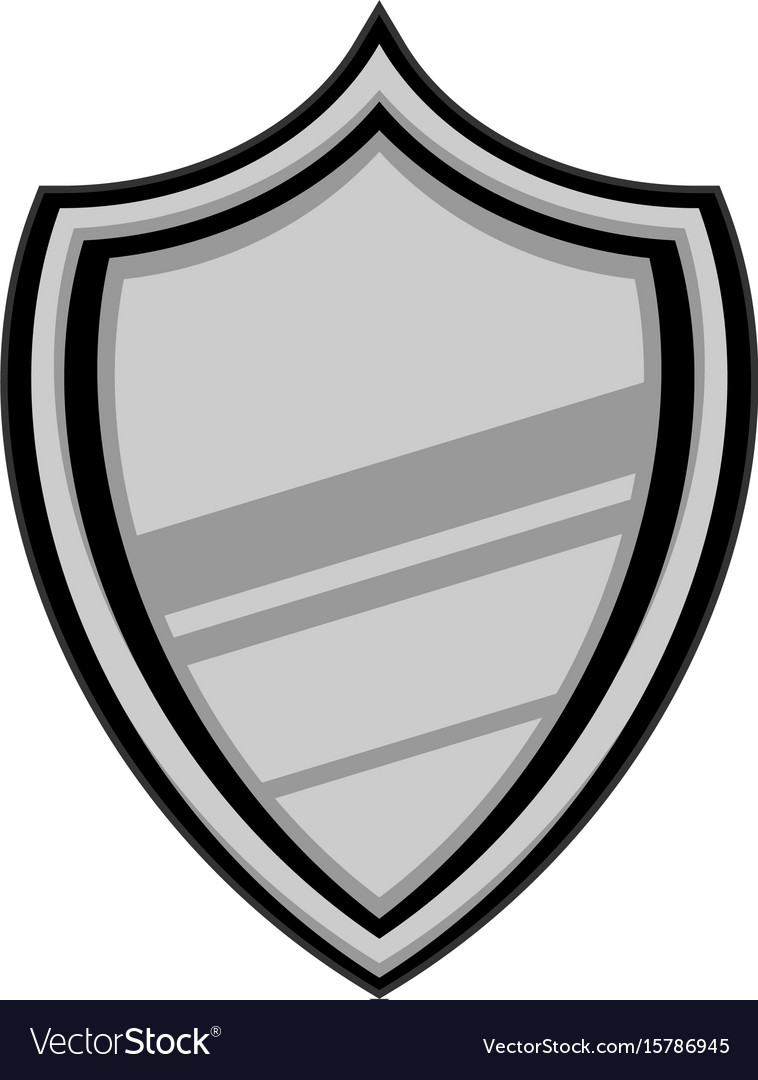 shield crest icon royalty free vector image vectorstock rh vectorstock com crest vector and meaning crest vector art