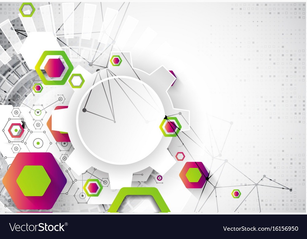 Science Template | Abstract Background Science Template Wallpaper Or Vector Image