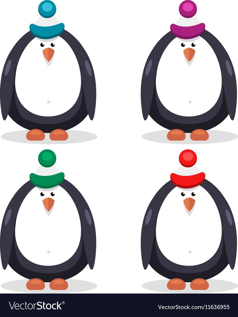 Set of flat penguin