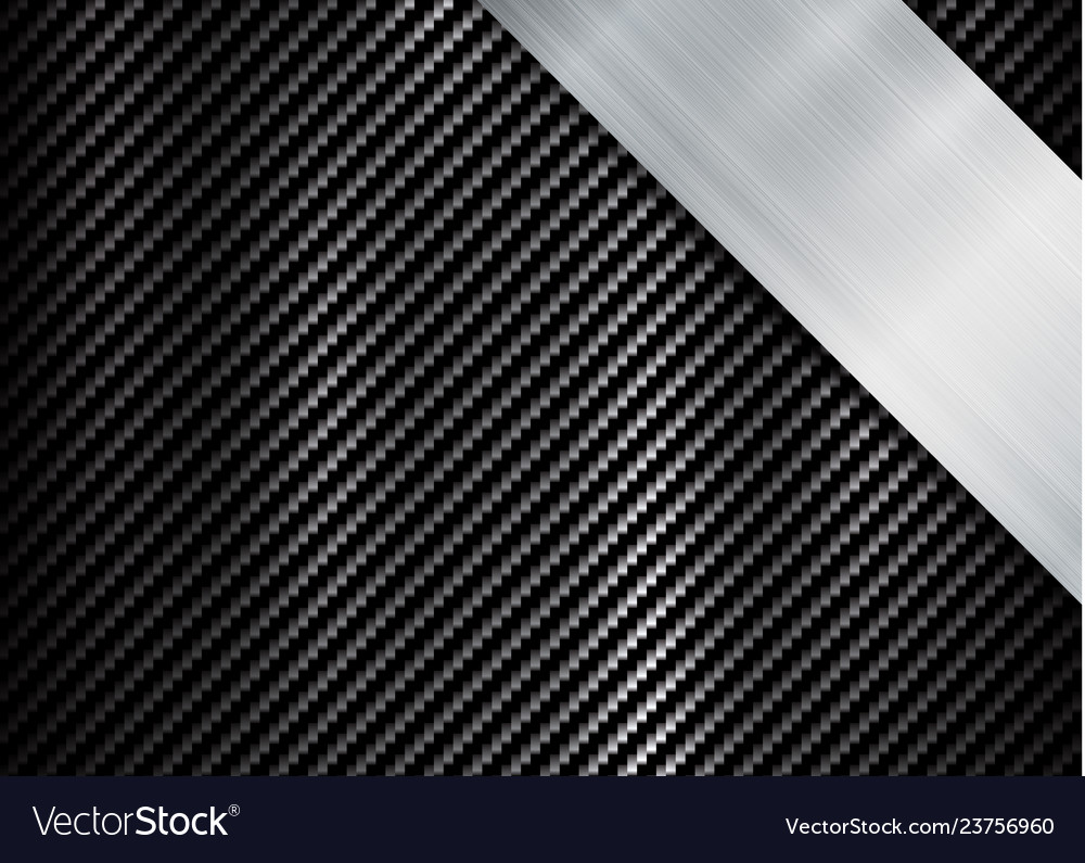 Abstract metallic frame carbon kevlar texture