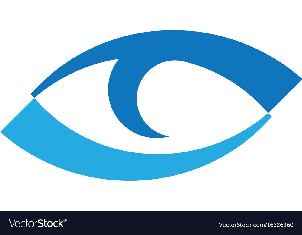 Branding identity corporate eye care logo design