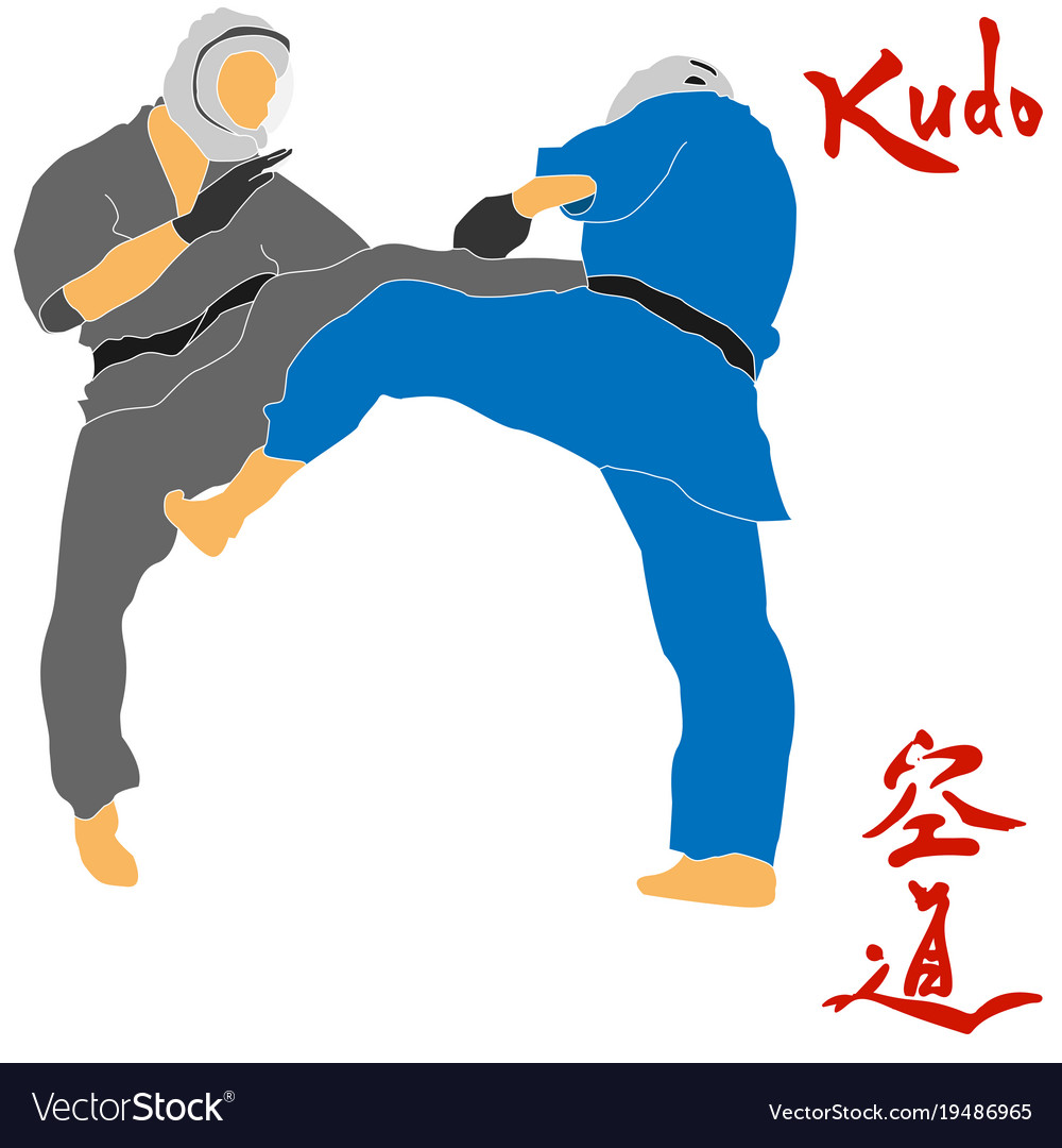 Kudo martial arts fighters Roy...