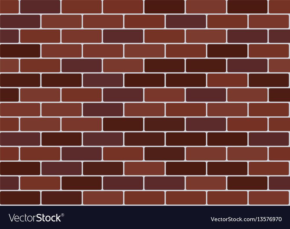 Red Brick Wallpaper Vector Image