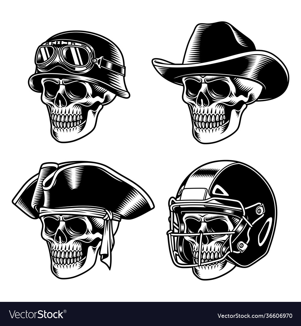 Skull characters collection