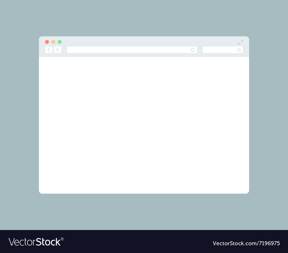 Blank Browser Window