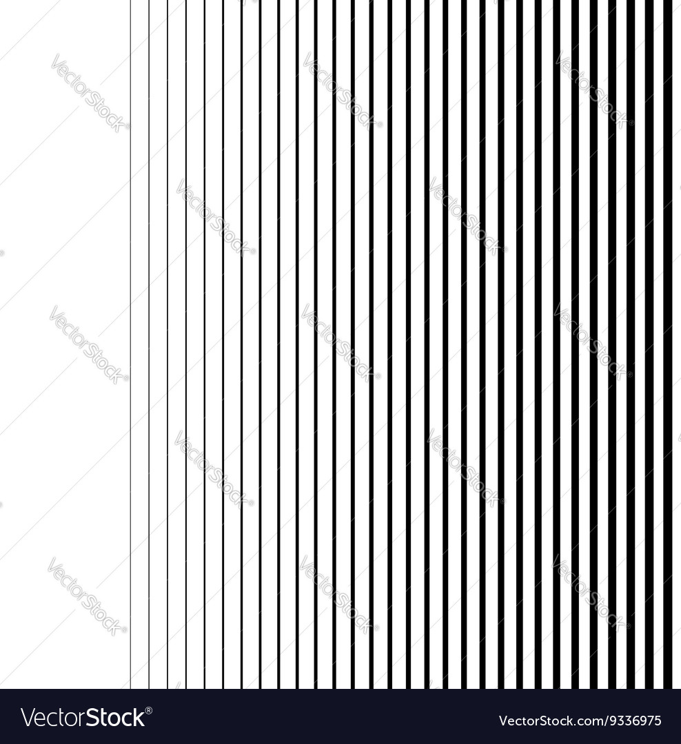 Gradient lines seamless background pattern vector image