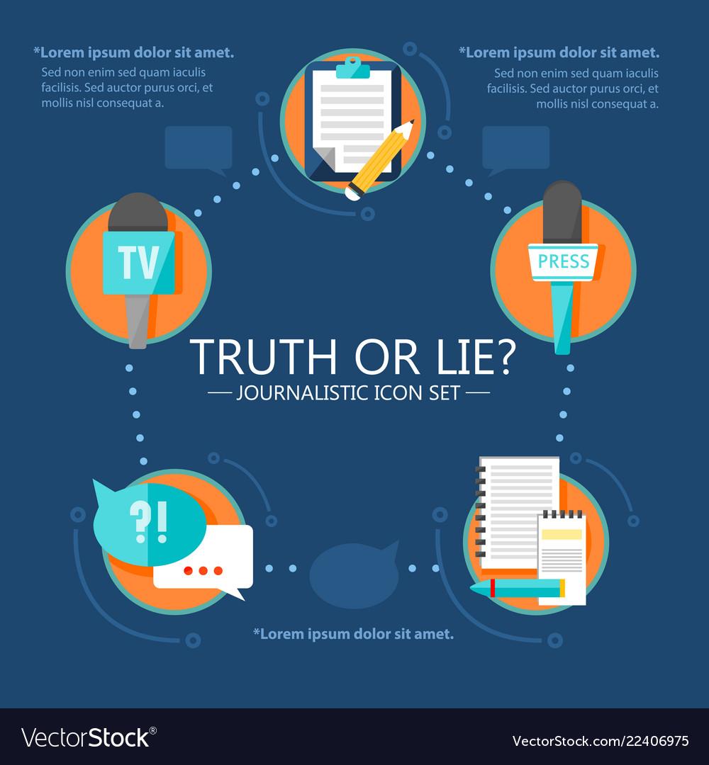 Mass media news infographic template