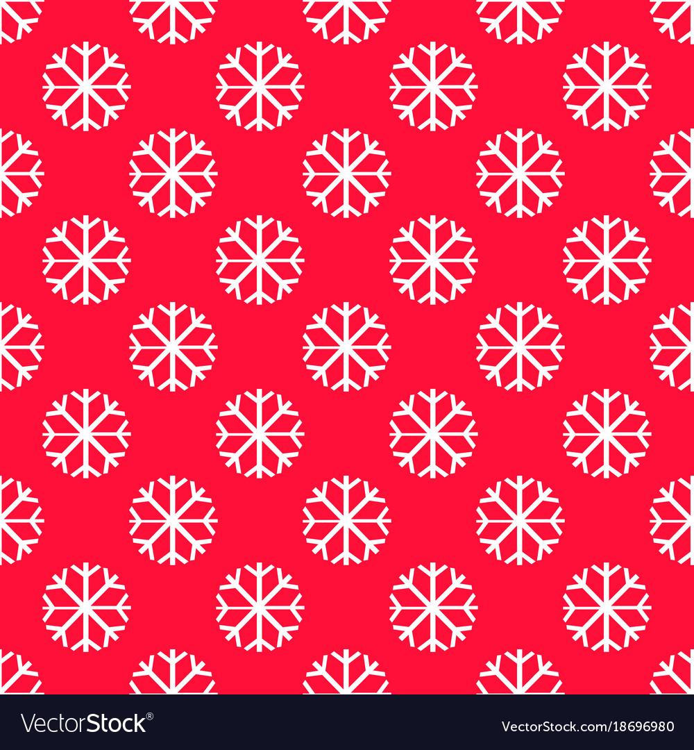 Snowflake pattern - snowflake pattern each vector image