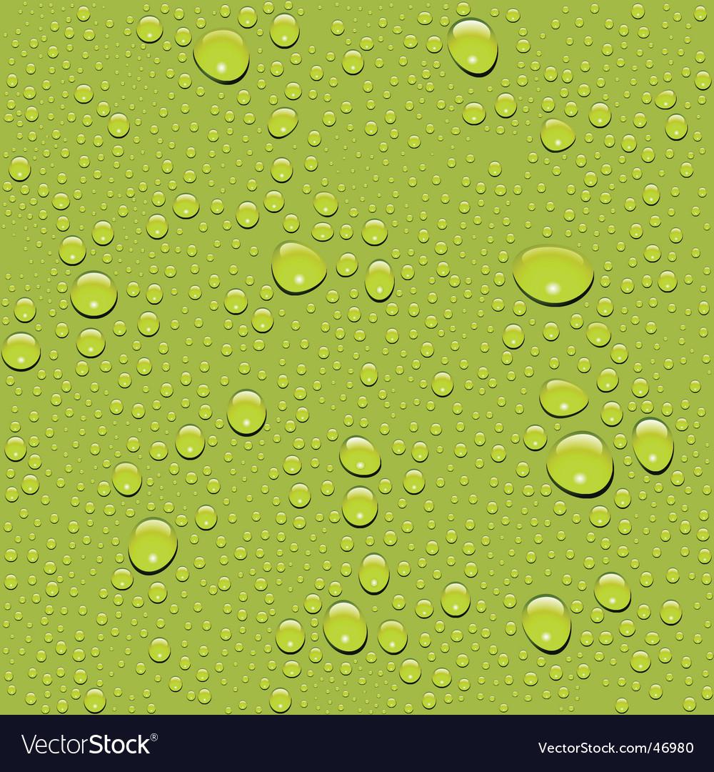 Water drop texture vector image