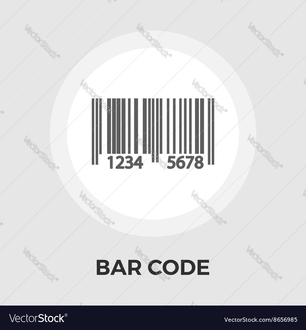 Bar code flat icon