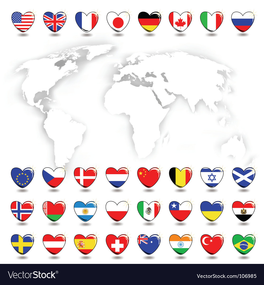 Map ans flags