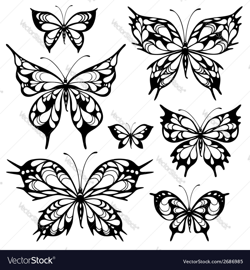 Tribal butterflys