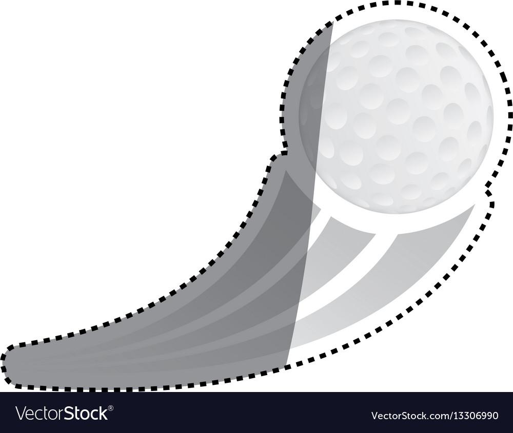 Golf game sport