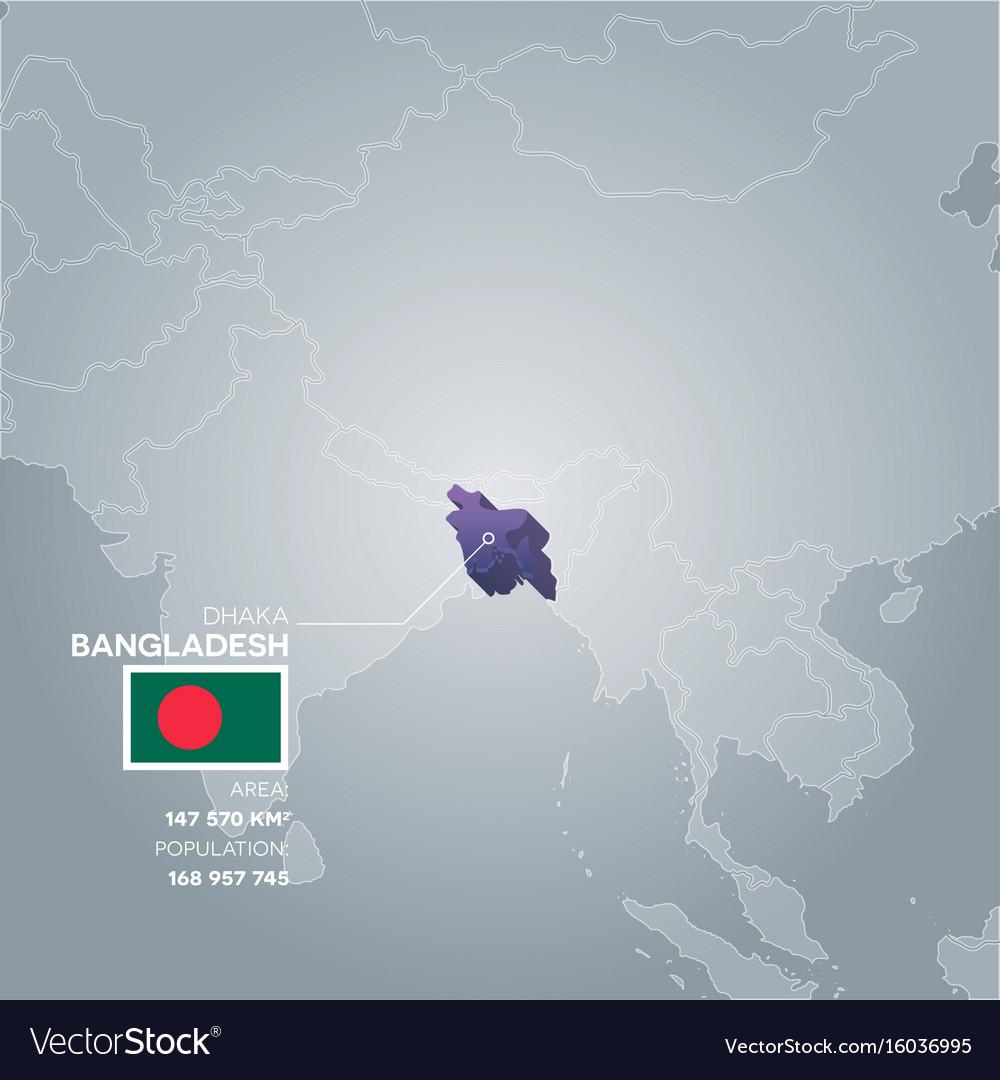 Bangladesh information map