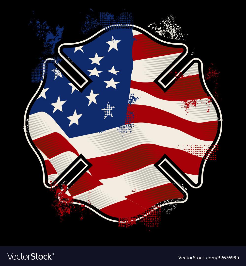 Us fire shield - firefighter