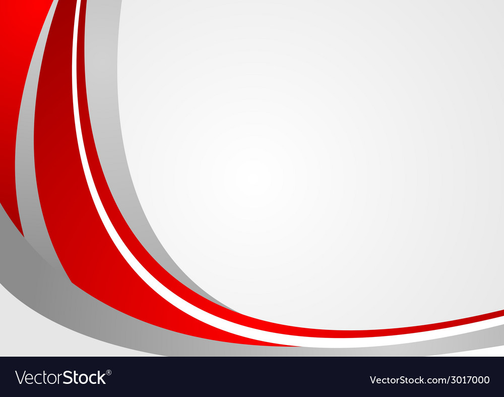 abstract red and grey wavy background royalty free vector