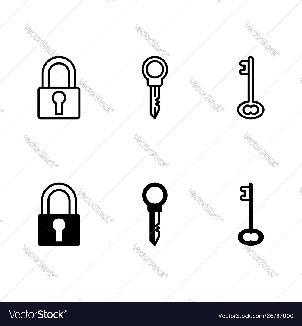 Security icon isolated