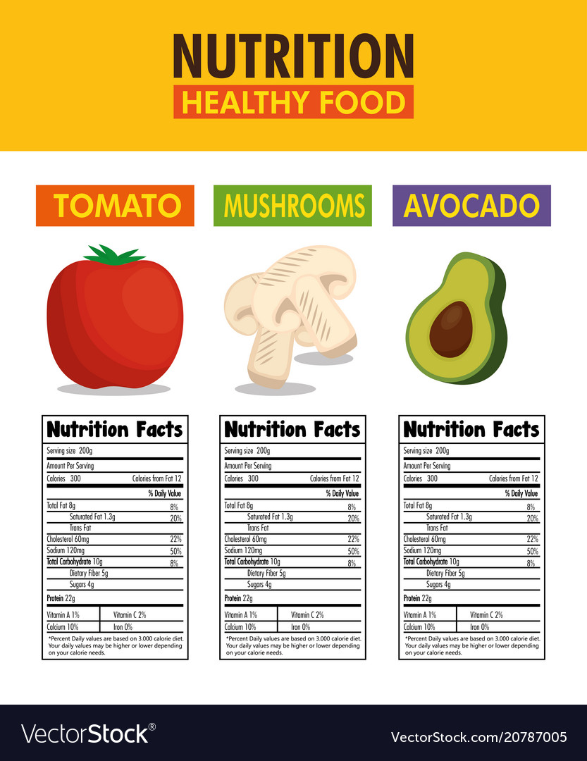 Fruit and vegetable nutrition facts pdf writer