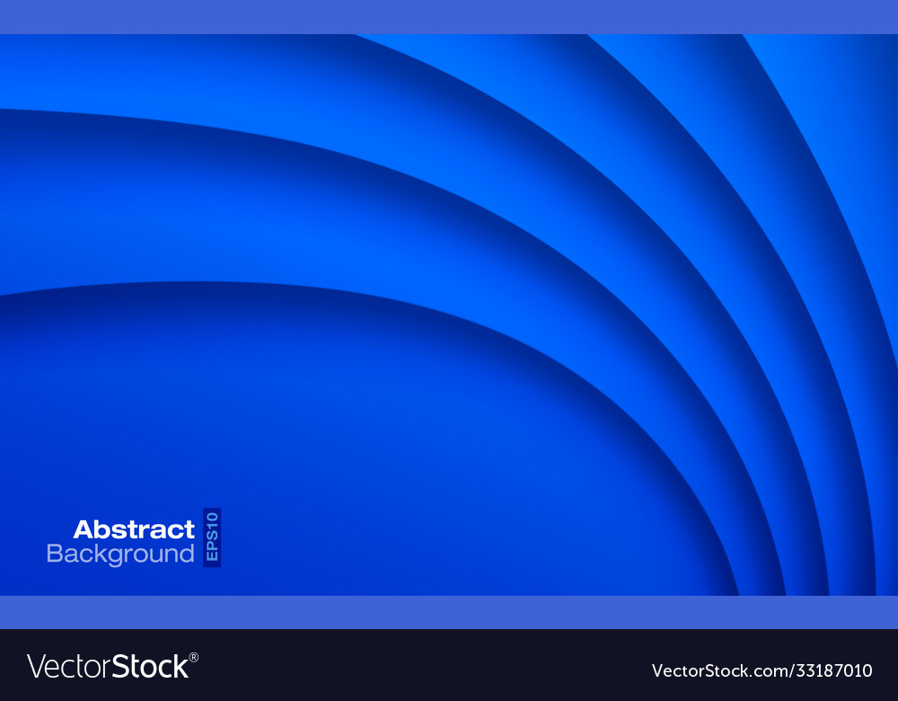 Blue wavy background business card pattern