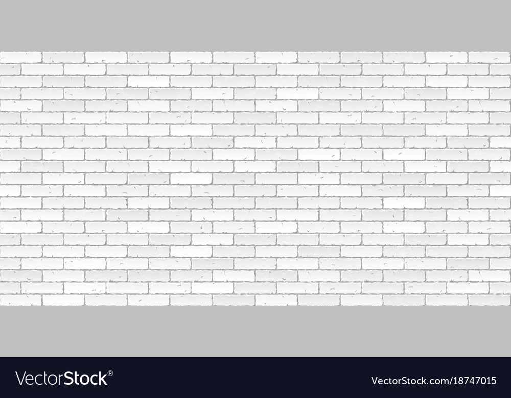 Brick Vector Picture Brick Veneers: White Brick Wall Texture Seamless Royalty Free Vector Image