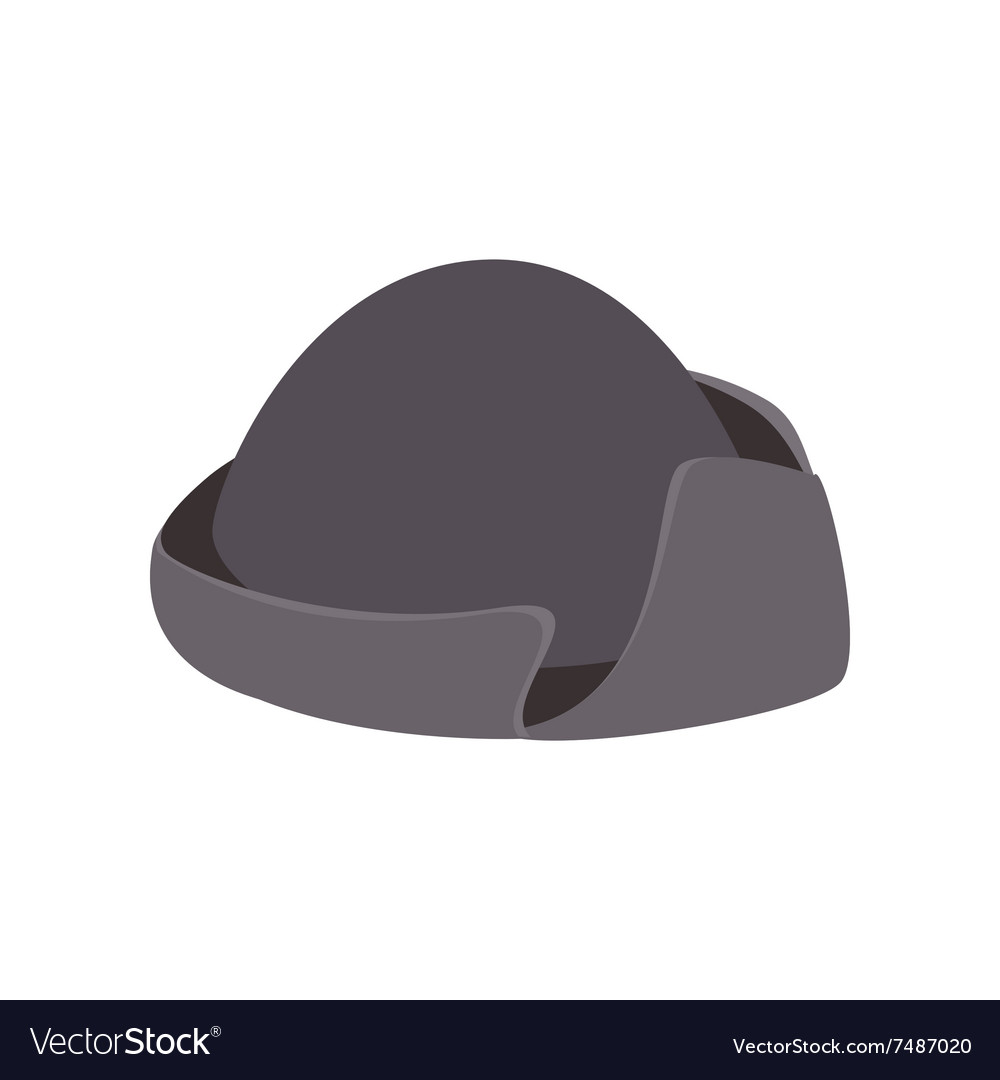 An old black hat isometric icon royalty free vector image jpg 1000x1080 Old  black hat 84f2fdd35eac