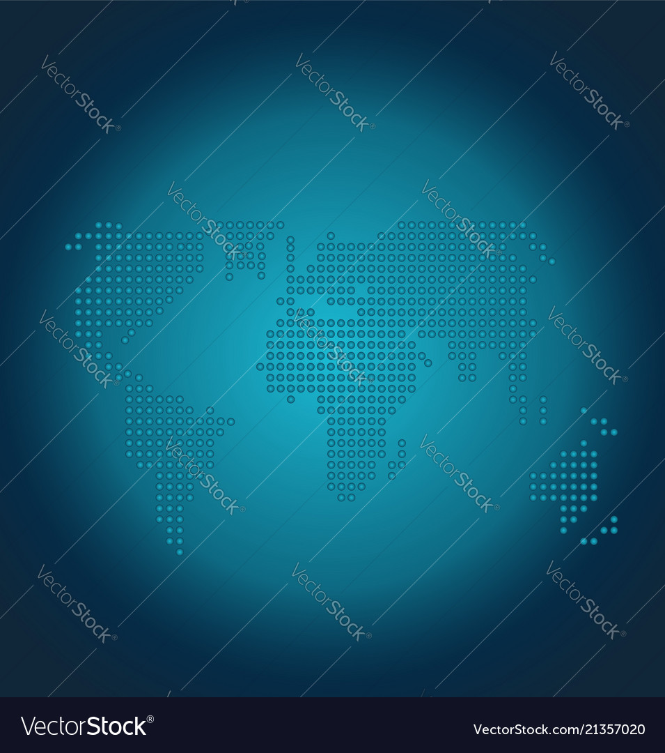 Dots world map globe background royalty free vector image dots world map globe background vector image gumiabroncs Image collections