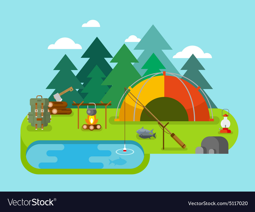 Outdoor Recreation Fishing Camp