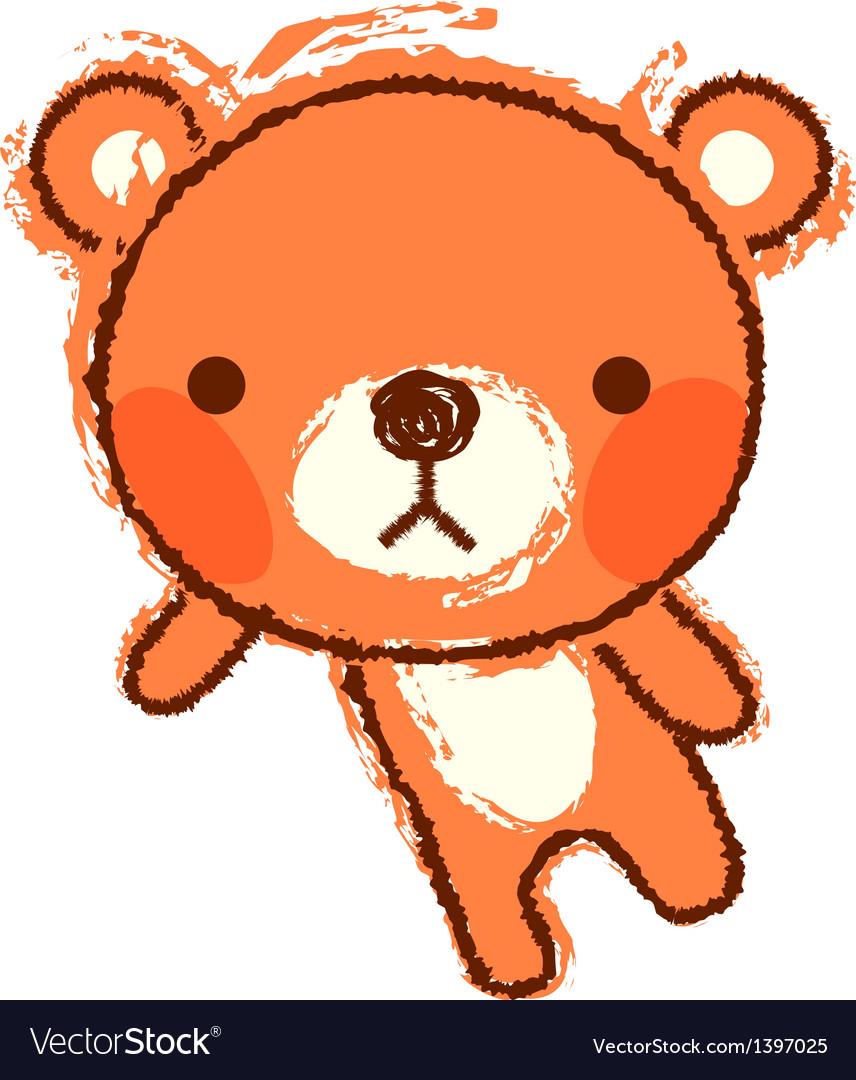 A bear is standing