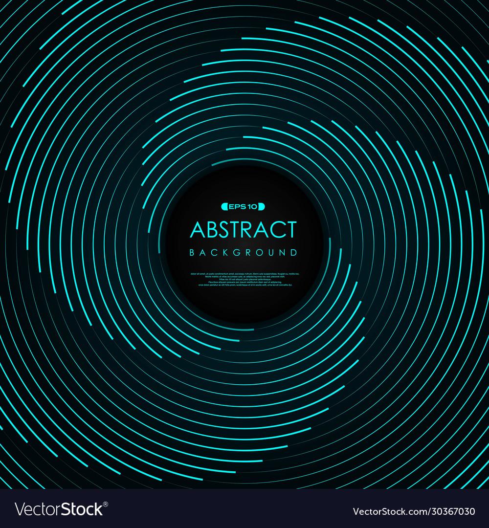 Abstract blue line swirl pattern artwork design
