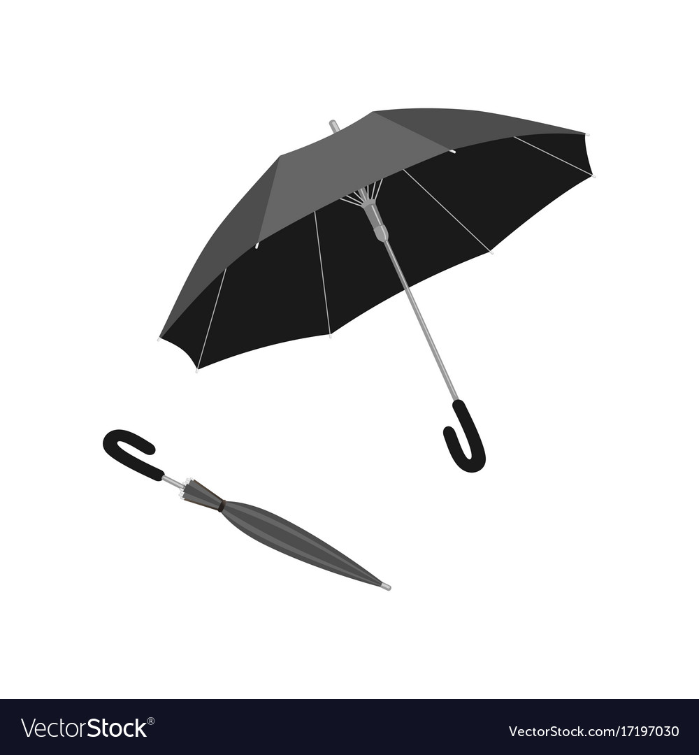 Isolated open and close umbrella