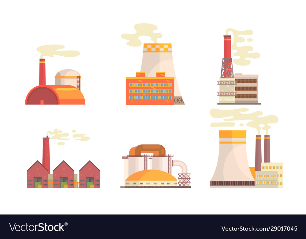 Modern power plants collection hydrothermal