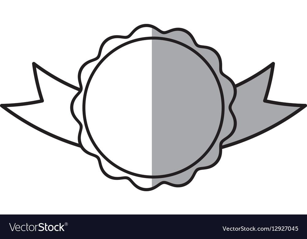 Rosette branding empty element shadow