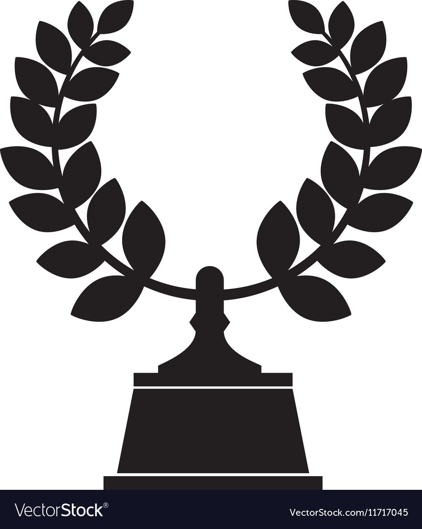 Wreath crown award icon