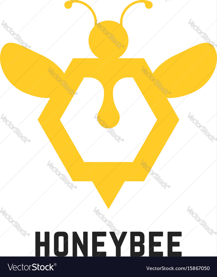 Abstract honey bee sign