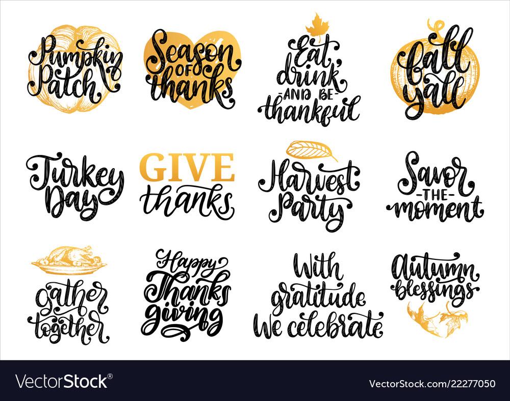 Drawn for thanksgiving day pumpkin