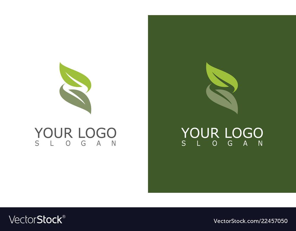 Leaf letter z logo