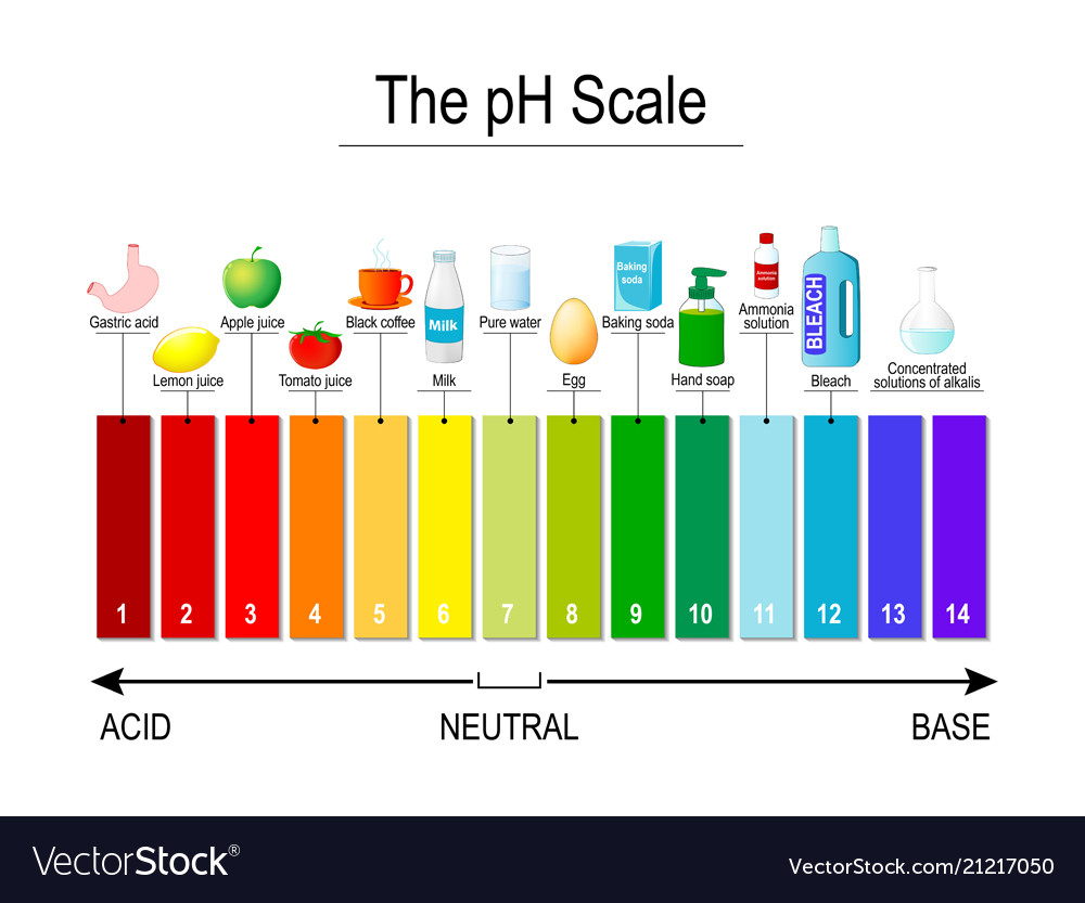 Ph scale universal indicator ph test strips
