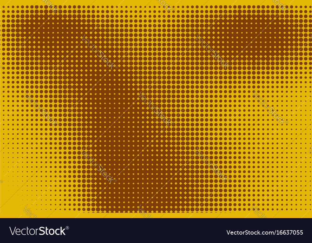 Abstract background with halftone color stains vector image