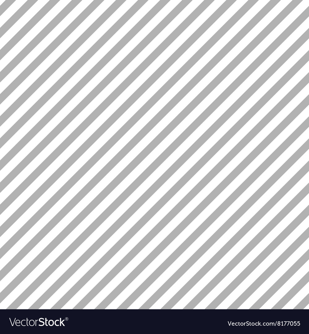 Grey diagonal stripes seamless pattern vector image