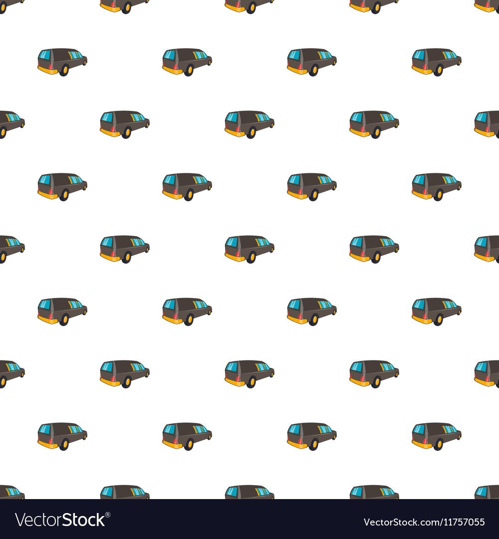 Hearse pattern cartoon style
